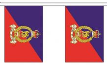 ADJUTANT GENERAL CORPS BUNTING - 9 METRES 30 FLAGS